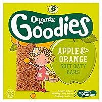 Organix Goodies - Organic Soft Oaty Bars - Apple & Orange - 6x30g