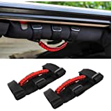 Savadicar 2 x Roll Bar Grab Handles Grip Handle for Jeep Wrangler YJ TJ JK JL & Gladiator JT 1987-2020, Interior Accessories,