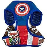 Marvel for Pets Comics Captain America Superhero Dog Harness for Medium Dogs | No Pull Dog Harness | Red, White and Blue No E