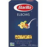 BARILLA Blue Box Elbows Pasta, 16 oz. Box (Pack of 8), 8 Servings per Box - Non-GMO Pasta Made with Durum Wheat Semolina - It