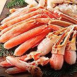 ますよね 生食可 かに伝説 元祖 カット済み ズワイガニ 800g ずわい蟹 (2-3人前)