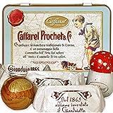 カファレル Caffarel トリノコレクション 小缶ブルー チョコレート 袋付き