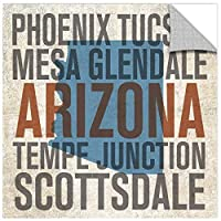 Tremont Hill Michael Mullan ''Arizona'' Removable Wall Art Mural, 36X36 [並行輸入品]