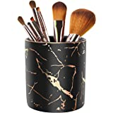 WAVEYU Pencil Cup for School, Pencil Holder for Desk, Makeup Brush Holder Cute for Students Exquisite Metal Lightweight Organ