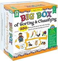 Carson Dellosa KE-840010 Big Box Of Sorting & Classifying Game Age 3 plus Special Education