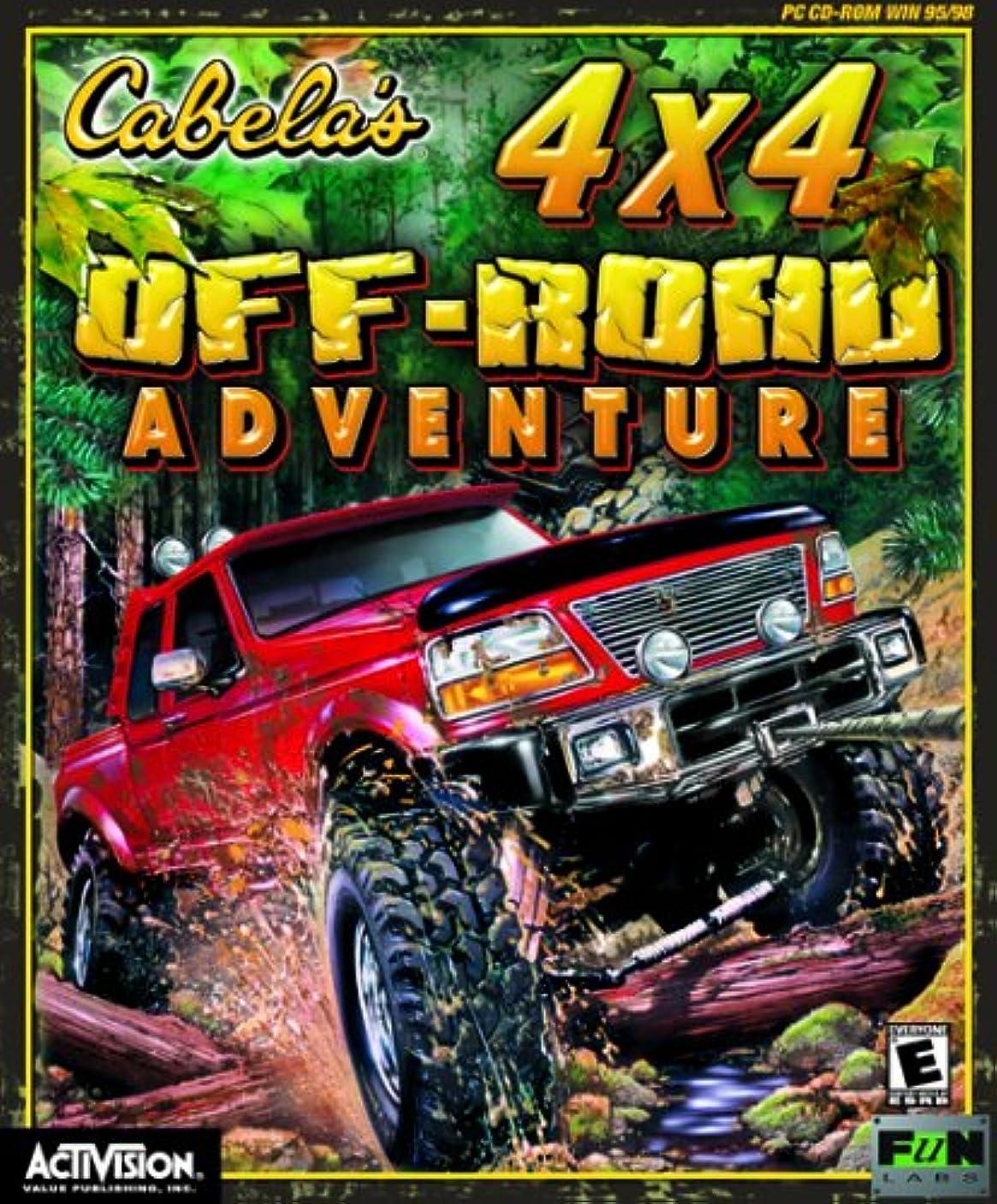 有彩色の然とした株式会社Cabela's 4X4 Off Road Adventure (輸入版)