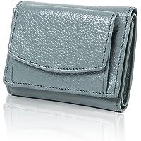ミニ財布 三つ折り財布 本革 牛革 レディース メンズ ミニウォレット 小さい財布 小銭入れ ボックス型 コンパクト ス…