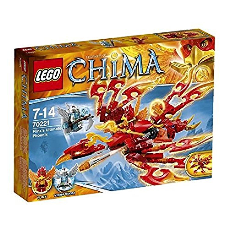 レゴ (LEGO) チーマ フリンクスのファイヤーフェニックス 70221