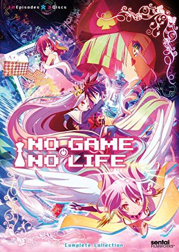 ノーゲーム・ノーライフ / NO GAME NO LIFE 【北米版】 [DVD][Import]
