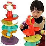 SneeperZ 赤ちゃん おもちゃ 1歳 知育玩具 スロープトイ くるくる ビーズコースター