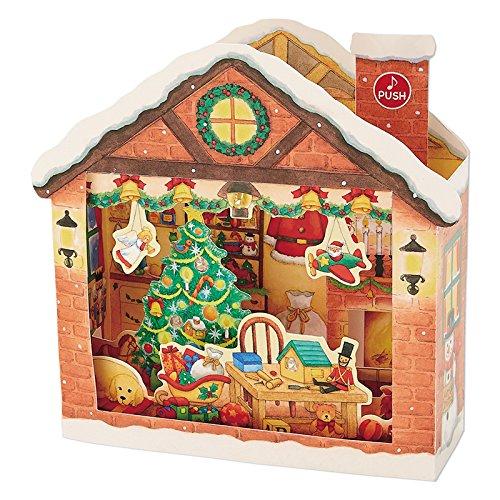 サンリオ クリスマスカード 洋風 ライト&メロディ 立体サン...