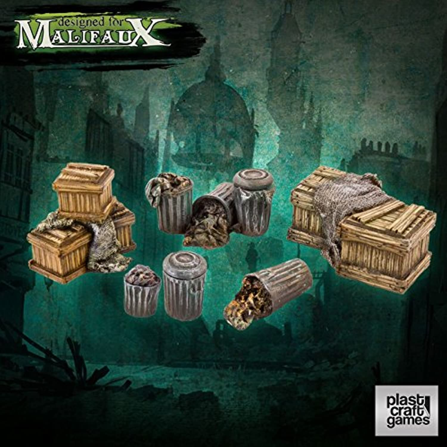 Plast Craft: Malifaux - Suburb Props