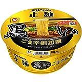マルちゃん正麺 カップ ごま辛担担麺 黒 121g×12個