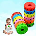 Sanwooden Interesting Toy Mathematics Toys 6Pcs Magnetic Mathematics Arithmetic Numerals Cylinder Toys Kids Early...