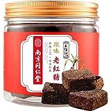 红糖 老红糖 黑糖 红糖姜茶 王锦记同仁堂老红糖 云南黑糖块 原味220g/罐