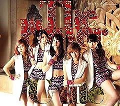 ℃-ute「悲しきヘブン (Single Version)」のCDジャケット