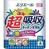 大王製紙 エリエール 超吸収キッチンタオル 1パック(4ロール入)