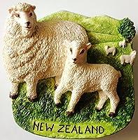羊ニュージーランド樹脂3d冷蔵庫冷蔵庫タイマグネットHand Made craft. byタイmcnets