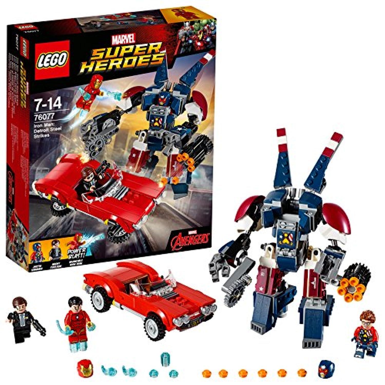 レゴ (LEGO) スーパー?ヒーローズ アイアンマン:デトロイト?スティールの攻撃 76077