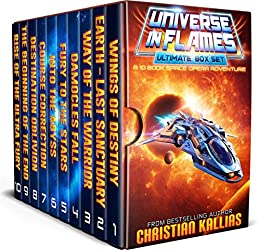 Universe in Flames – Ultimate 10 Book Box Set: An Epic Space Opera Adventure by [Kallias, Christian]