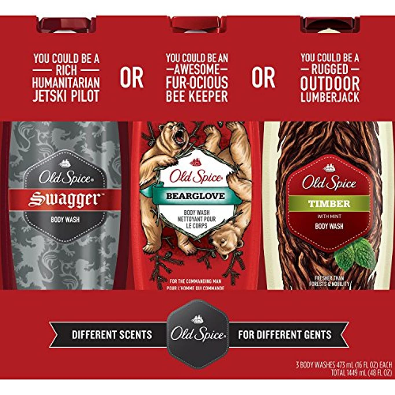 売上高お誕生日読み書きのできないOld Spice Body Wash Variety Pack (16 fl. oz., 3 pk by Procter & Gamble [並行輸入品]