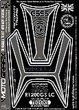MOTOGRAFIX(モトグラフィックス) タンクパッド BMW R1200GS(水冷)13- ブラック/シルバー MT-TB017KS