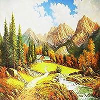 Ljunj カスタム写真壁画壁紙3D風景油絵フレスコ画自然の壁紙リビングルームの寝室の背景の壁の家の装飾-400X280Cm