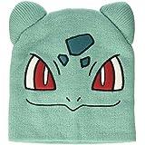 [バイオワールド]bioWorld Pokémon Bulbasaur Knit Beanie Cap Hat teal One Size 190371317057 [並行輸入品]