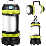 Rechargeable LED Camp Lantern USB Charge Portable Brightest Camping Light with 800LM 4 Modes IPX45 Water Resistant Lightweigh