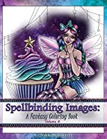 Spellbinding Images: A Fantasy Coloring Book