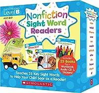 Scholastic Nonfiction Sight Word Readers レベル B 英語教材 25冊セット CD付