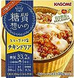 カゴメ 糖質想いの チキンドリア (国産押し麦100%使用) 206g×6個