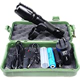 CREE XP-E T6 USB LED Zoomable 5000Lm 18650 Rechargeable Battery Flashlight Torch SAA Approved