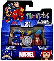 Marvel Minimates Assortments - Captain America/Scarlet Witch