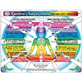 CHAKRA Rainbow® Centers CHART: Body-Mind-Spirit Connections in the Inner Light Resources Charts Series. 2-Sided, 8.5 x 11 in.