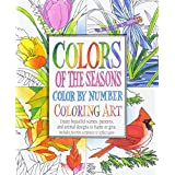 Colors of the Seasons Color by Number Coloring Art