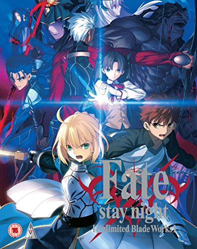 Fate Stay Night Unlimited Blade Works Blu-ray BOX 1/2(第0-12話 リージョンB)[Import]