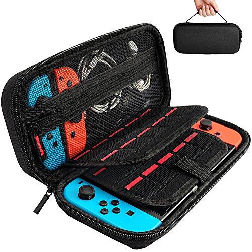 [Nintendo Switch対応] Nintendo Switch専用の保護ケース, 任天堂スイッチ用のキャリングケース,外出や旅行...