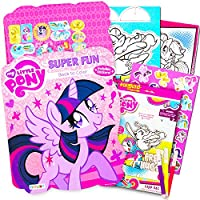 My Little Pony Colouring Book with Take-N-Play Set Pinkie Pie Colouring Book with My Little Pony Stickers, Markers, & Bonus Sticker