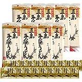 椿油使用 五島手延うどん 約27人前セット (1袋240g×9袋 あごだしスープ18袋)