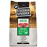Stockman and Paddock Grain Free Dry Dog Food Beef, 20 Kilograms