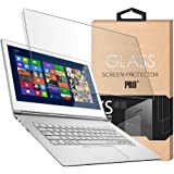 Tempered Glass Screen Protector for 13.3 Inches Laptop, 9H Hardness and Crystal Clear, Screen Protector size is 11.57 inch wi