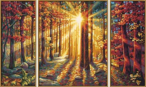 Schipper Malen Nach Zahlen Herbstwald Triptychonsamurai Buyer