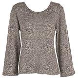 コクーンフィット くずまゆ8袖丈Tシャツ COK-0626-05 グレー
