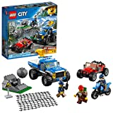 LEGO City Police Dirt Road Pursuit 60172建物キット( 297Piece )