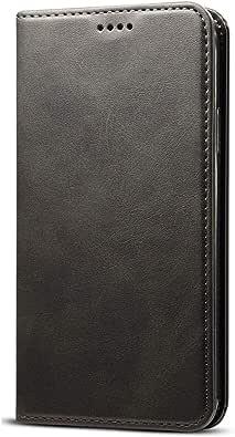 iPhone7ケース 手帳型 レザーケース アイフォン7カバー 財布型 カード収納 お札入れ スタンド機能 耐衝撃 全面保護 黒 ブラック