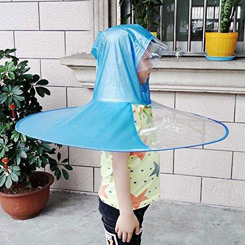 ハットカサ 釣り傘 帽子傘 かわいい 子供用 大人用 傘帽子...
