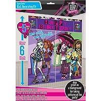 "Amscan Monster High Scene Setter Birthday Party Decorating Kit (5 Pack), 59"" x 65"", Multicolor [並行輸入品]"