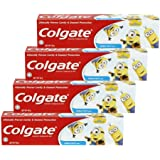 Colgate Kids Minion Toothpaste 40g [Bundle of 4] Value Deal
