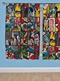Marvel ComicsレッドブルースーパーヒーローThe Avengersカーテン66